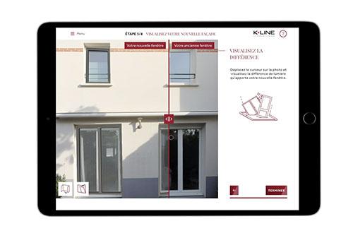 Testez vos nouvelles fenêtres sur votre façade.
